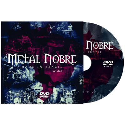 DVD Slim - Metal Nobre - Made In Brazil