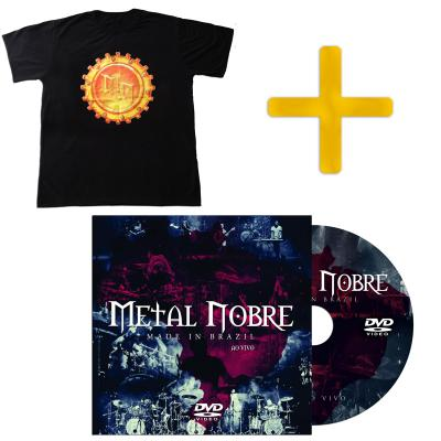 DVD Made In Brazil + Camiseta Metal Nobre
